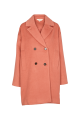 Basic Apparel Cleo Coat Solide Muted Clay