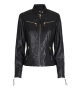 Butterfly Copenhagen Biker Jacket Black/Gold