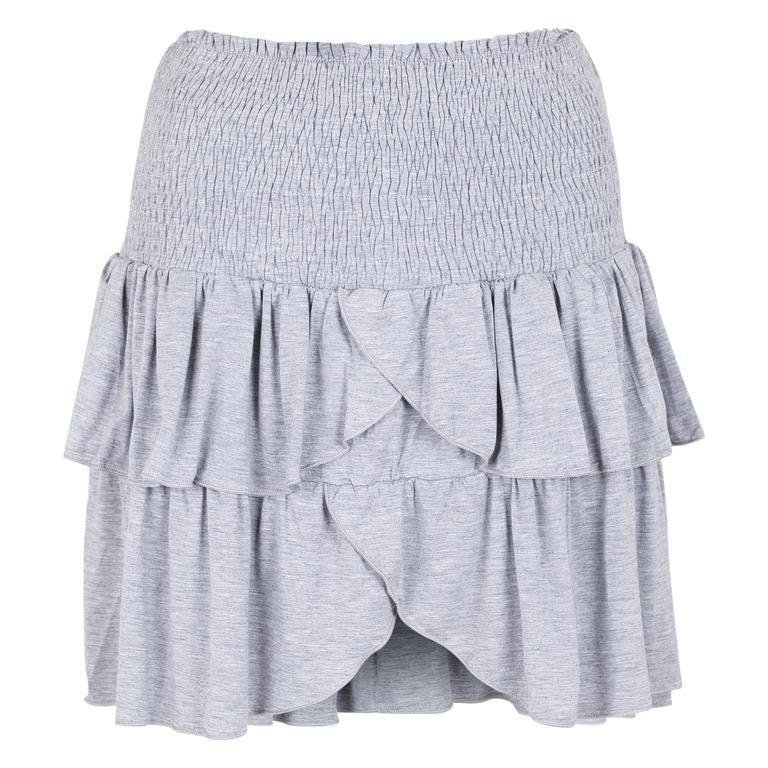 b2484ceb7c8 Neo Noir Carin jersey Skirt Grey Melange