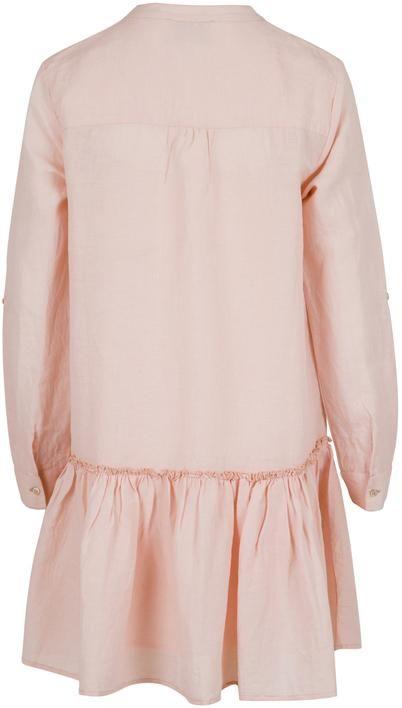 51b996f6 Neo Noir Stellar Linen Dress Rose