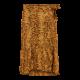 Liberte`Henrietta wrap Skirt Yellow Snake