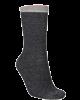 Beck Söndergård Dana Herringbone Frill Sock Black